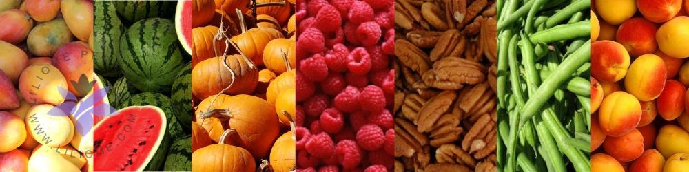 رایحه میوهها، سبزیجات و دانههای آجیلی یا نت میوه ای - FRUITS NOTES