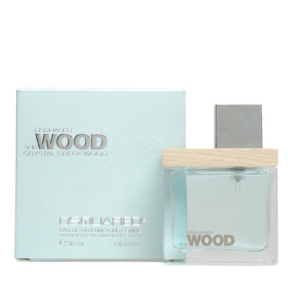 عطر ادکلن دی اسکورد شی وود کریستال کریک وود-DSQUARED² She Wood Crystal Creek Wood