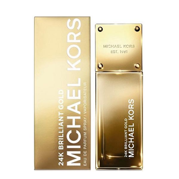 عطر ادکلن مایکل کورس 24 کی بریلیانت گلد-Michael Kors 24K Brilliant Gold