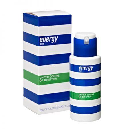 عطر ادکلن بنتون انرژی مردانه-Benetton Energy Man