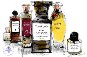 رنگ ادکلن و نوع رایحه -انتخاب عطر براساس رنگها